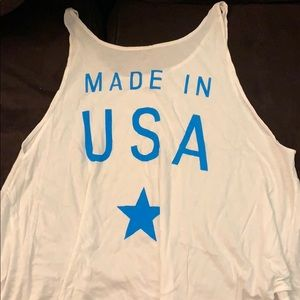 REAL WILDFOX MADE IN USA SOFT TANK TOP